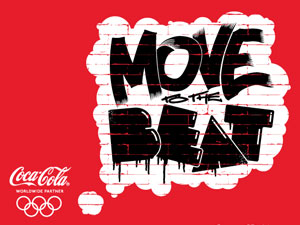 Coca-Cola London 2012 artwork